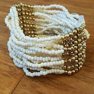 H&M Beaded Stretch Bracelet